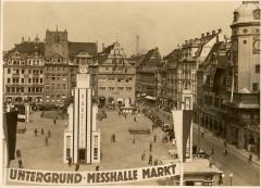 Bakelite Pavilion at Leipziger Messe Trade Fair in Germany around 1935