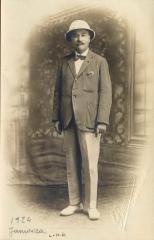 L.H. Baekeland, Kingston, Jamaica, 1924