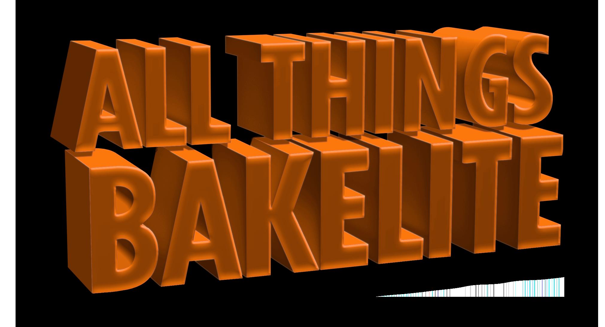 all things bakelite