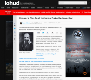 lohud - All Things Bakelite featured in Film Festival