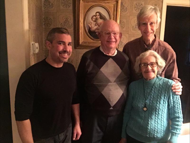 Marc, Burk, Nancy and Hugh