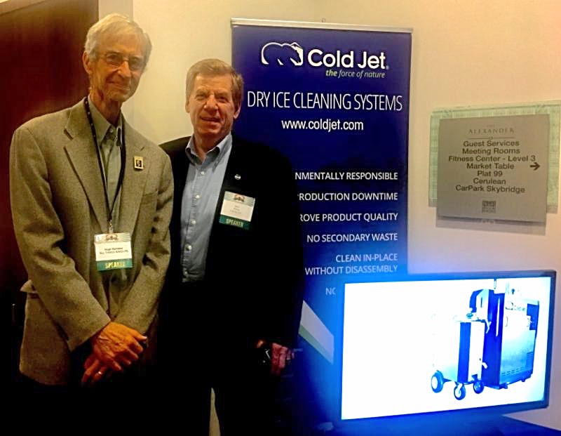 Hugh and Steve Wilson, director of global business development at Cold Jet, LLC