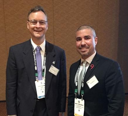 Marc with Professor Kazmer