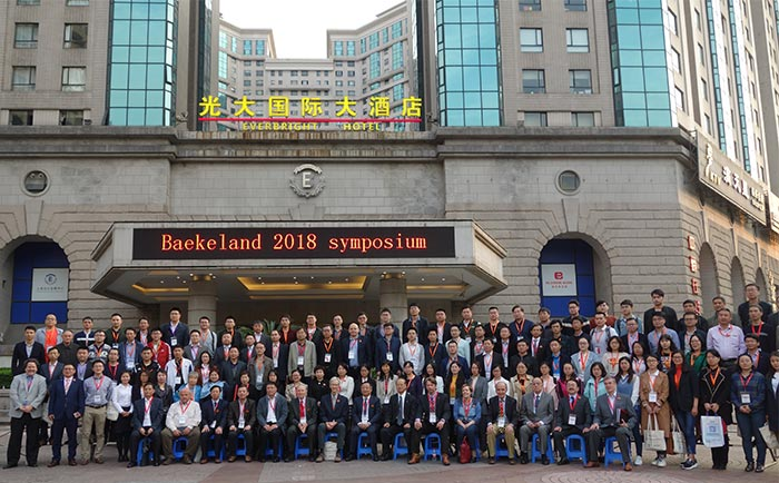 Hugh with Symposium attendees in Shanghai